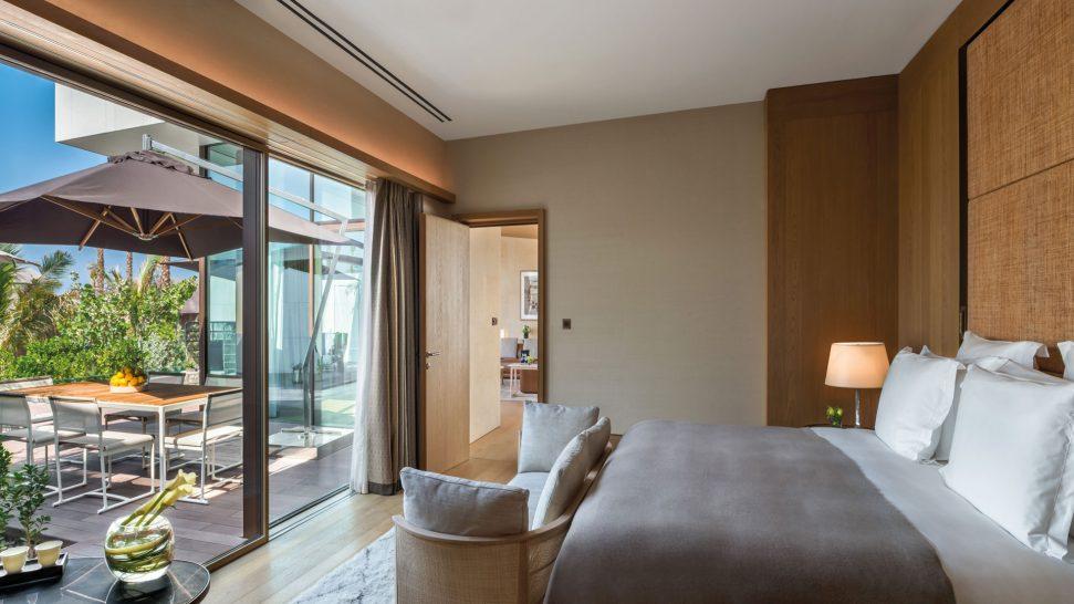 Bulgari Resort Dubai Beach Villa Bedroom