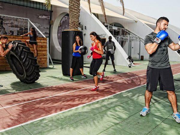Bulgari Resort Dubai Boxing and Fitness