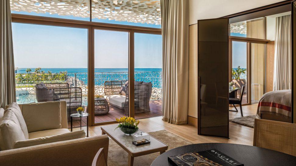 Bulgari Resort Dubai Junior Suite Living Room