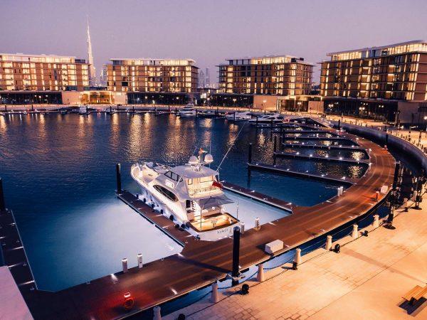 Bulgari Resort Dubai Night View
