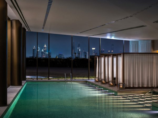 Bulgari Resort Dubai Spa Night View