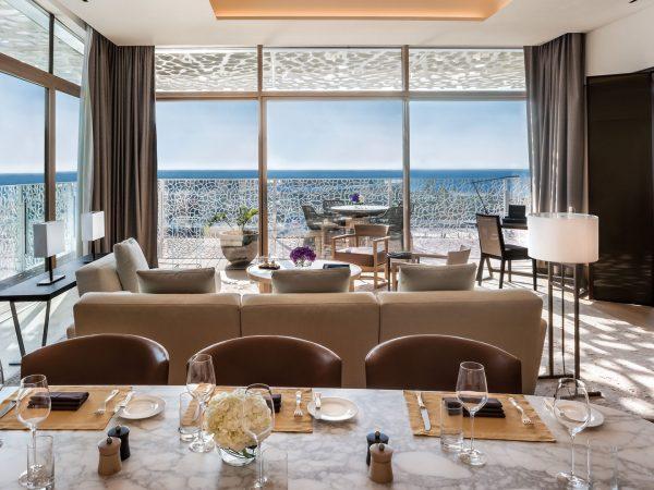 Bulgari Resort Dubai Suite Dining Room