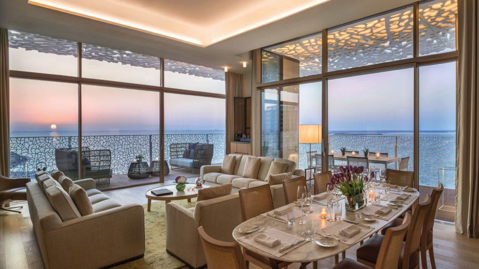 Bulgari Resort Dubai Suite Living Room