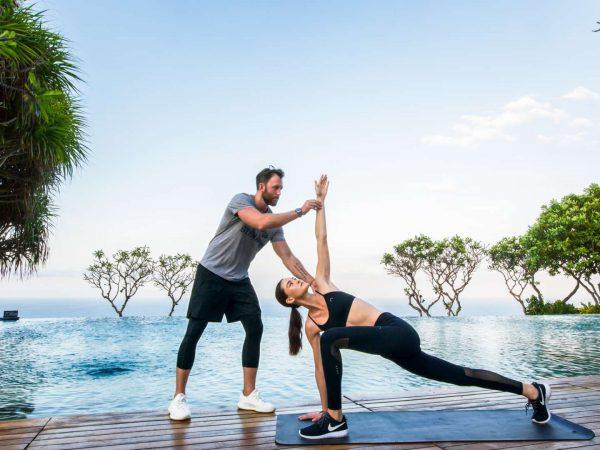 Bulgari Resort Bali Yoga