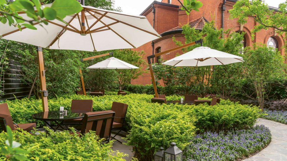 Bvlgari hotel shanghai Garden