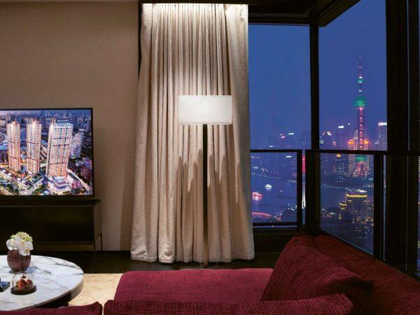 Bvlgari hotel shanghai Premium View Suite