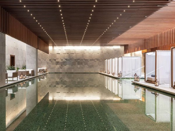 Bvlgari hotel shanghai Spa pool