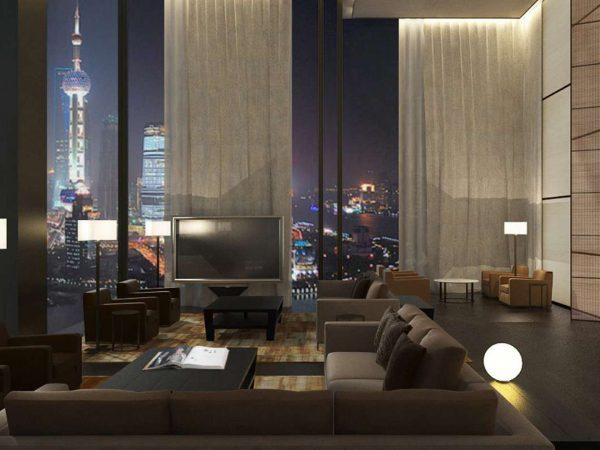 Bvlgari hotel shanghai Suite