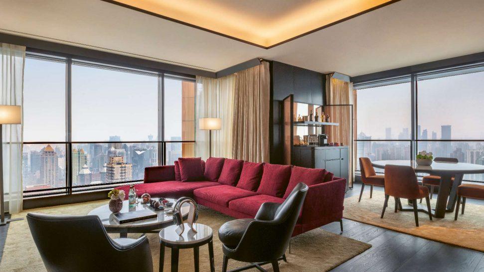 Bvlgari hotel shanghai Superior Suite