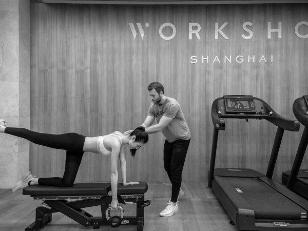 Bvlgari hotel shanghai fitness