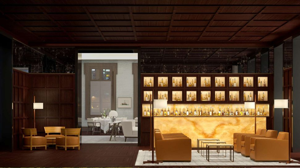 Bvlgari hotel shanghai whisky bar