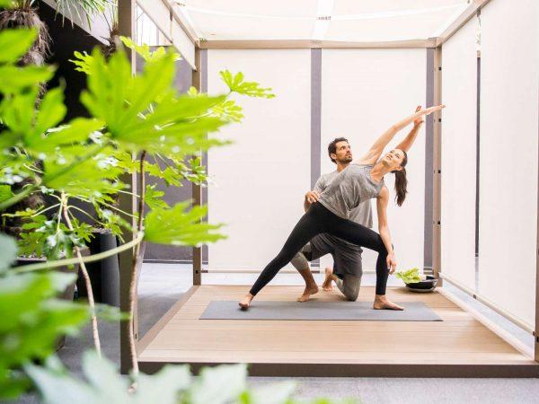 Bvlgari hotel shanghai yoga