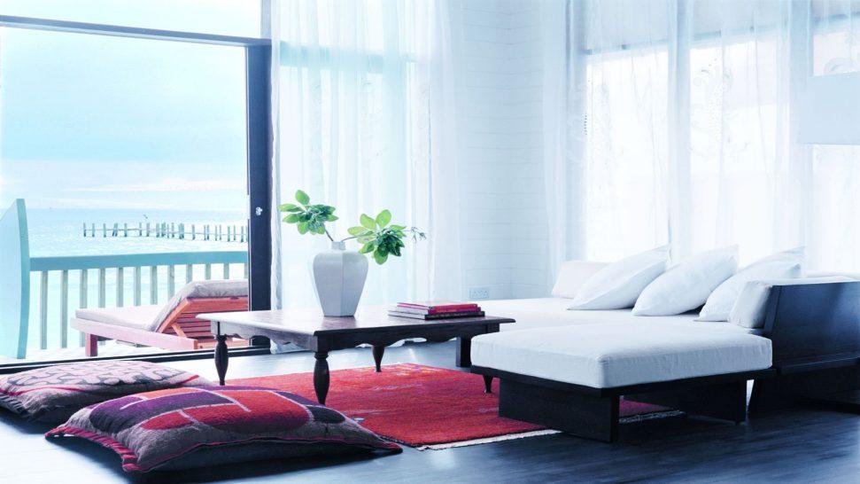 Como Cocoa Island Dhoni Loft Suite Living Room