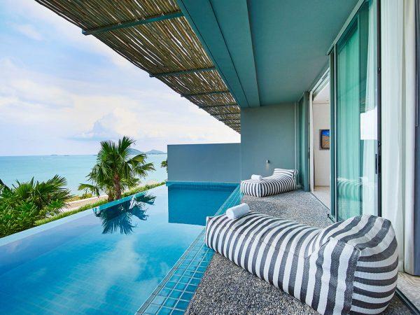 COMO Point Yamu Bay Pool Suite Balcony