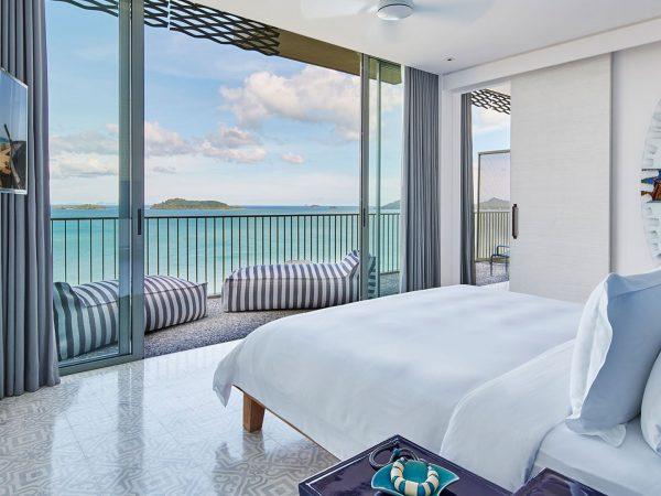 COMO Point Yamu Bay Suite Bedroom