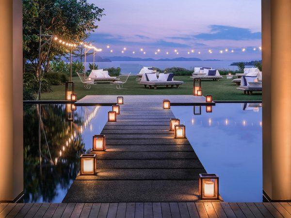 COMO Point Yamu Sunset Lawn Reception