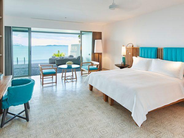 COMO Point Yamu Veranda Pool Room Bedroom