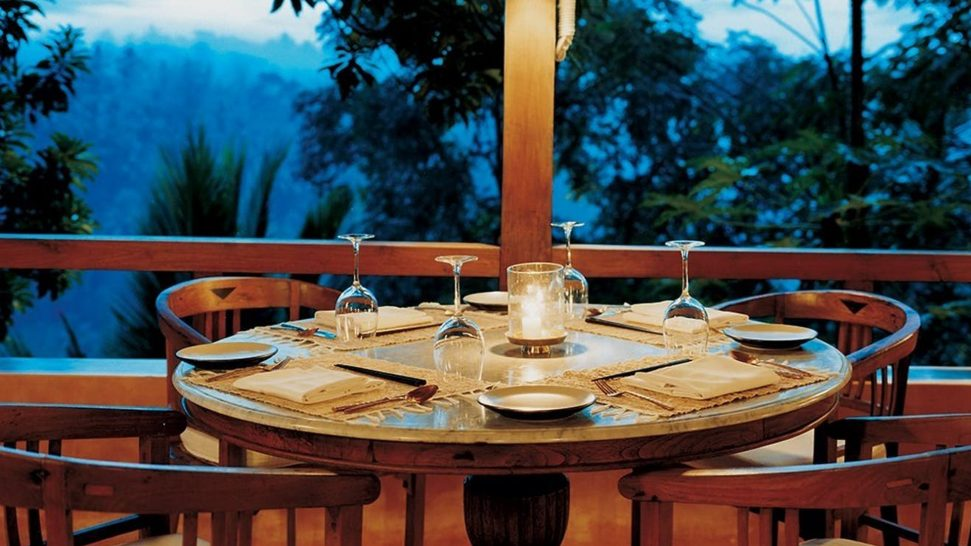 COMO Shambhala Estate Kudus House Dining