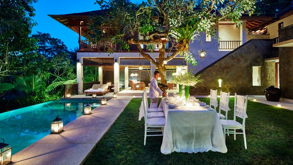 COMO Shambhala Estate Private Dining