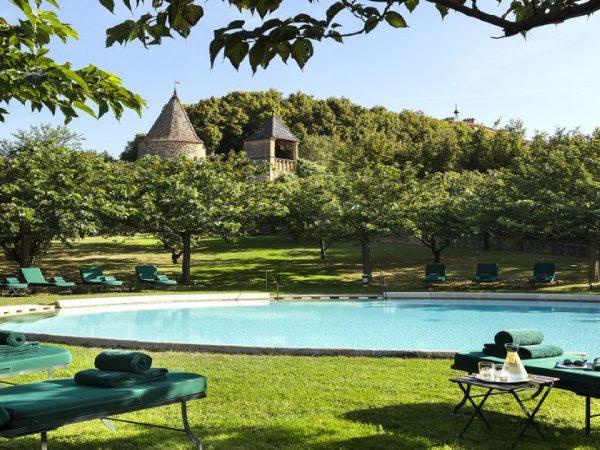 Chateau De Bagnols Main Pool