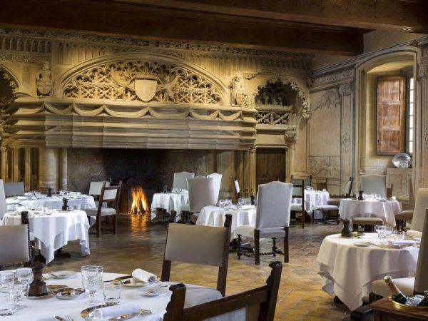 Chateau De Bagnols restaurant