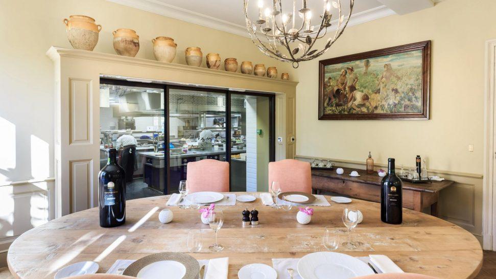 Chateau de Berne Bistrot La Table du Chef