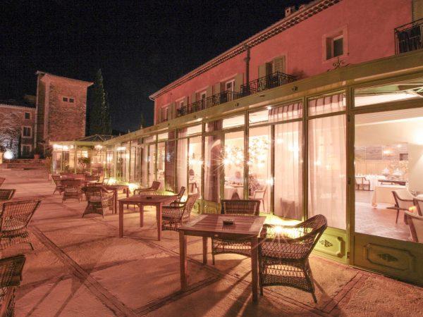 Chateau de Berne Outdoor Restaurant