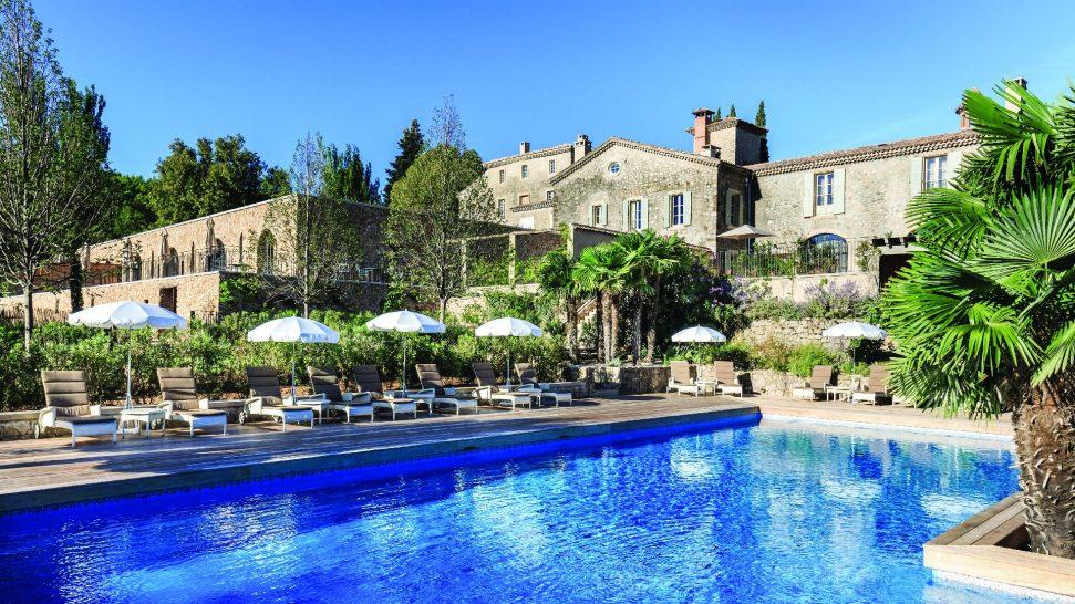 Chateau de Berne Pool