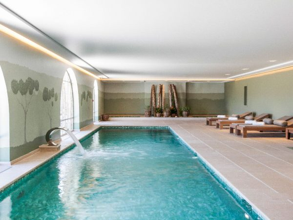 Chateau de Berne Pool indoor pool