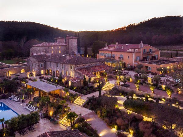 Chateau de Berne Sunset