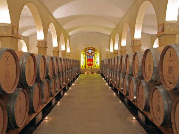 Chateau de Berne Wine Cellar