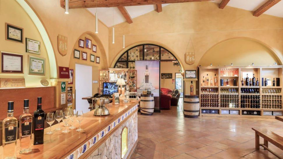 Chateau de Berne Wine Shop