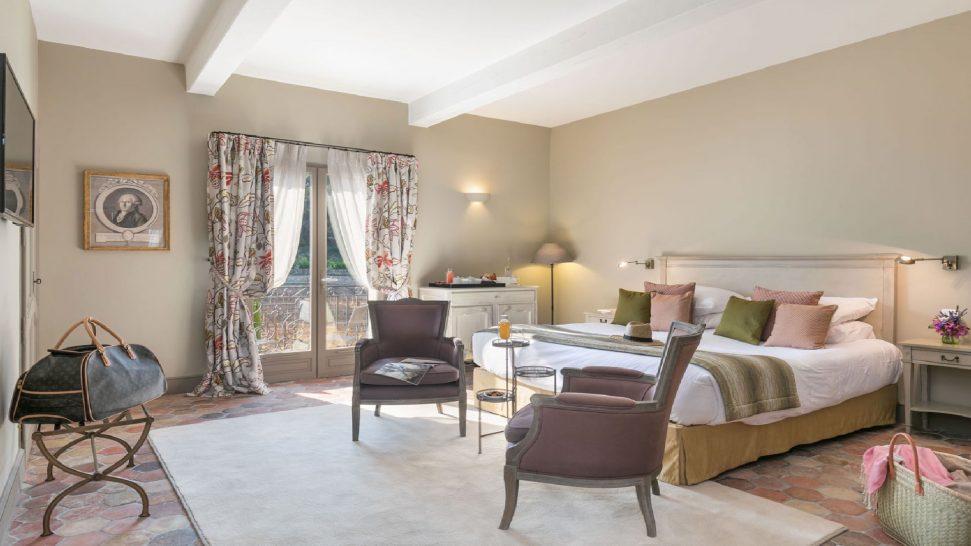 Chateau de Berne deluxe Bedroom