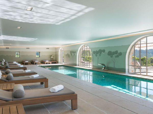 Chateau de Berne indoor pool