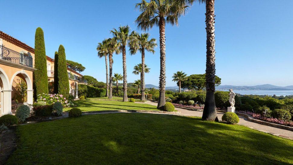 Chateau de la Messardiere Gardens