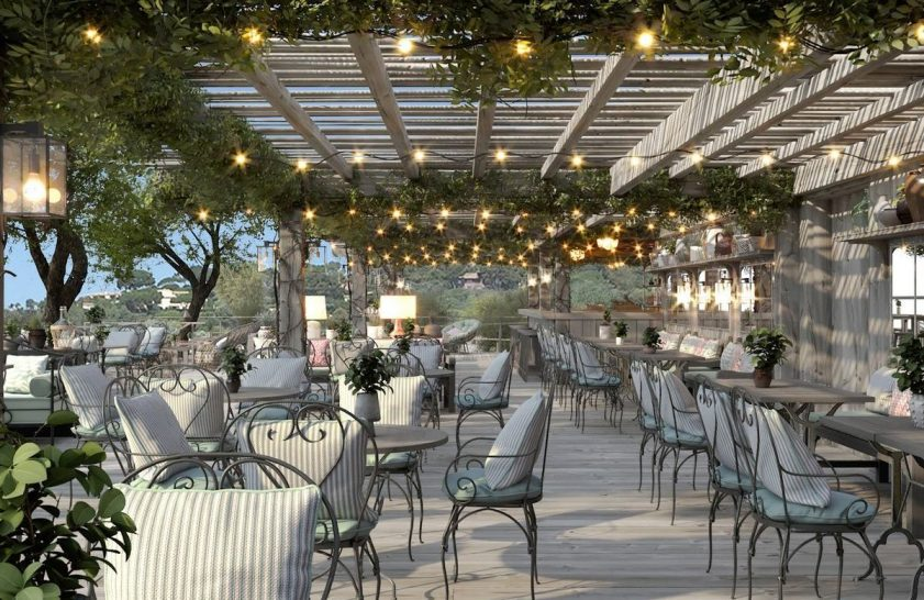 Chateau de la Messardiere Jardin Tropezina Restaurant