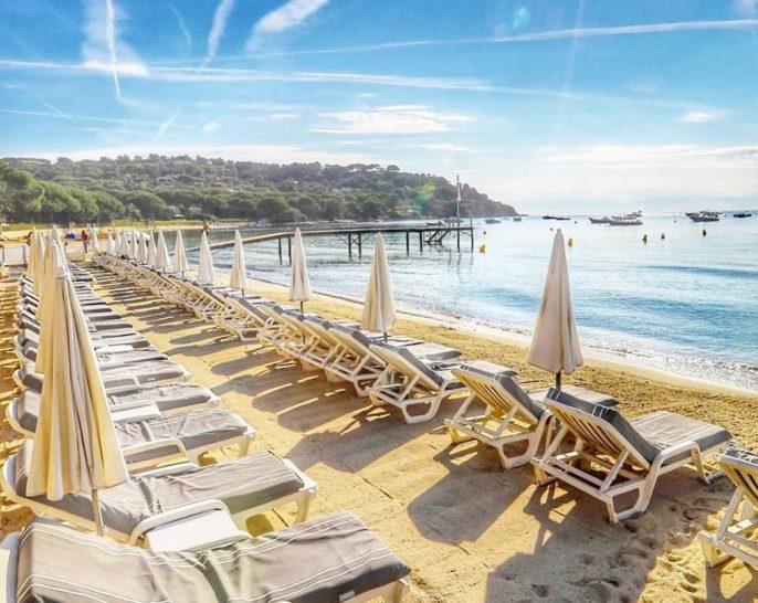 Chateau de la Messardiere Tropezina Beach