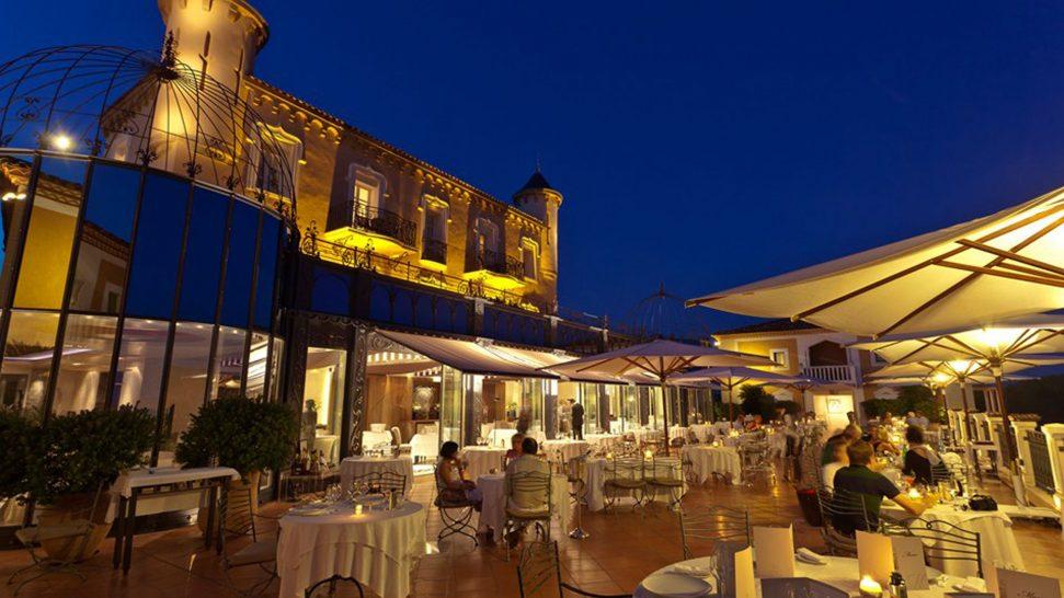 Chateau de la Messardière Open Restaurant