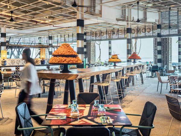 Como Uma Canggu COMO-Beach Club Restaurant