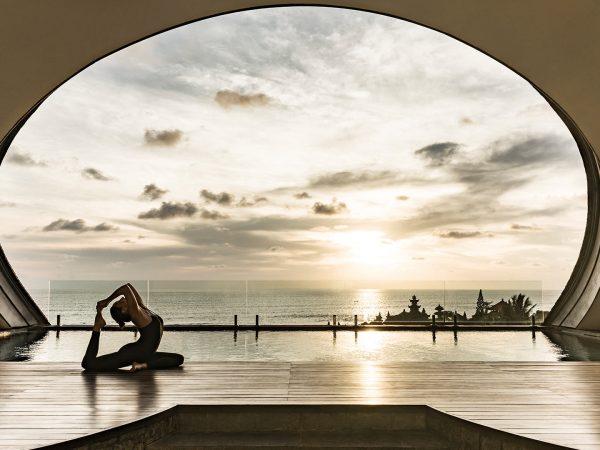 Como Uma Canggu Private Pool Deck Yoga