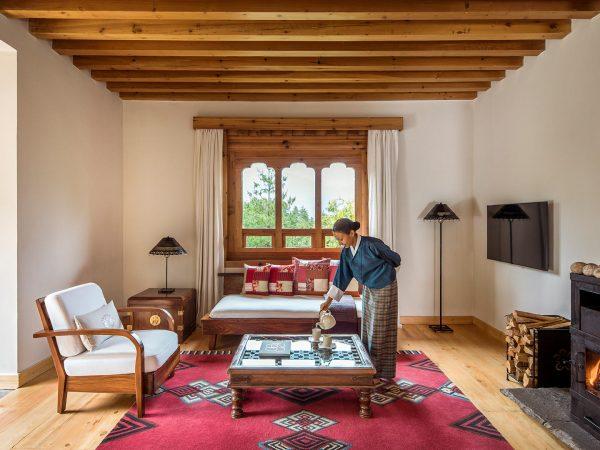 Como Uma Paro One Bedroom Villa Living Room