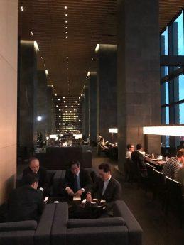 Guests at Aman Tokyo