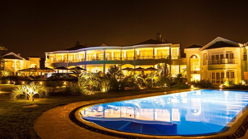 Hemingways Nairobi Pool Night