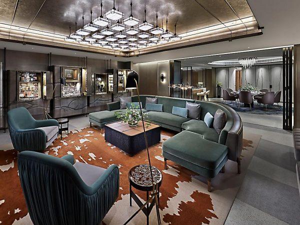 Hong Kong The Landmark Suite Living Room
