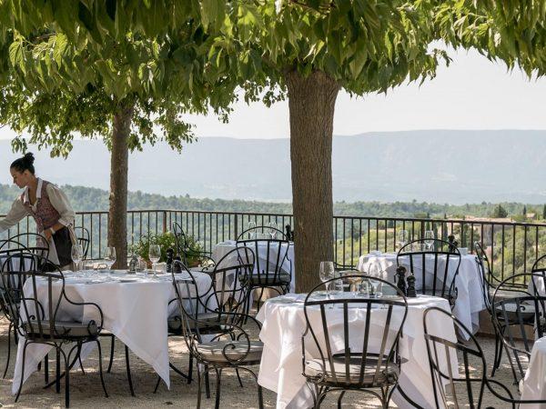La Bastide De Gordes restaurant terrasse lorangerie