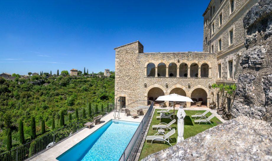 La Bastide de Gordes pool