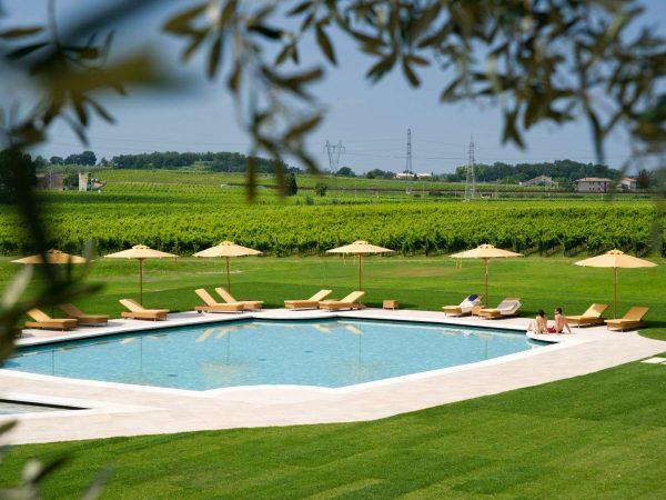 Lago di Garda Villa Cordevigo Pool