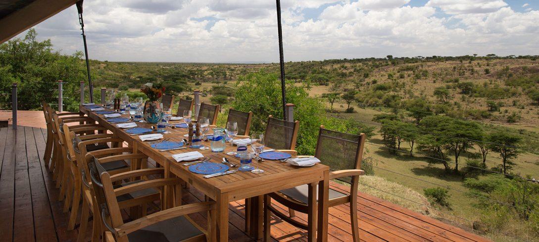 Mahali Mzuri Masai Mara Dining