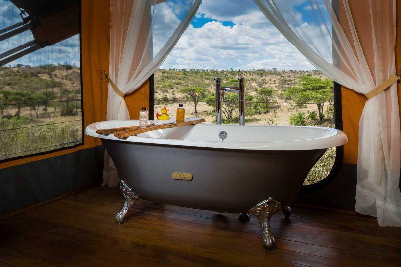 Mahali Mzuri Masai Mara bathroom