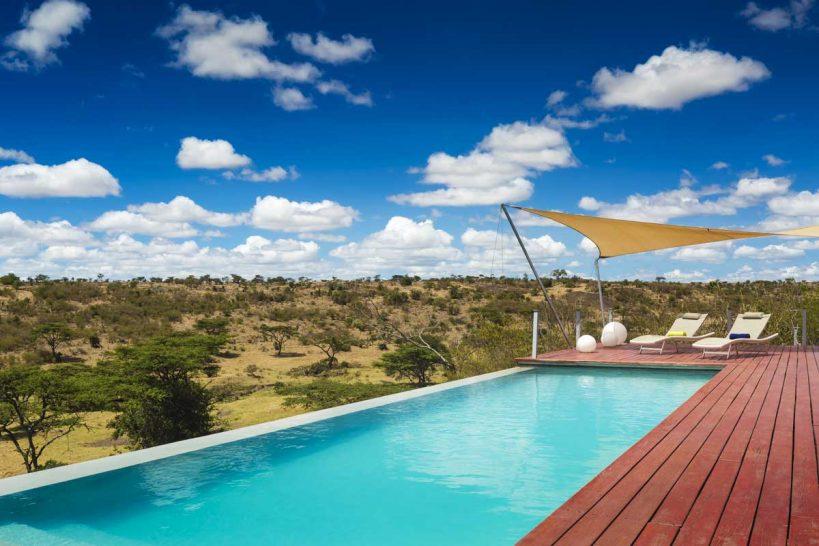 Mahali Mzuri Masai Mara pool